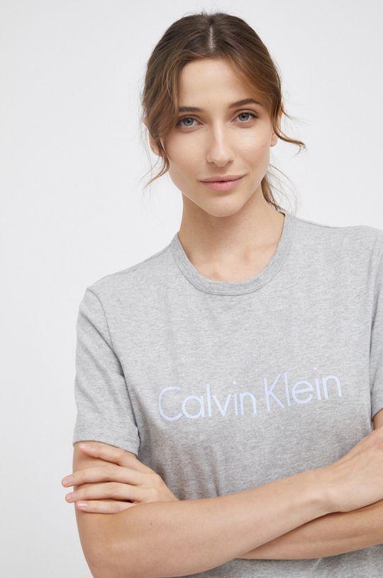 szary Calvin Klein Underwear - T-shirt piżamowy