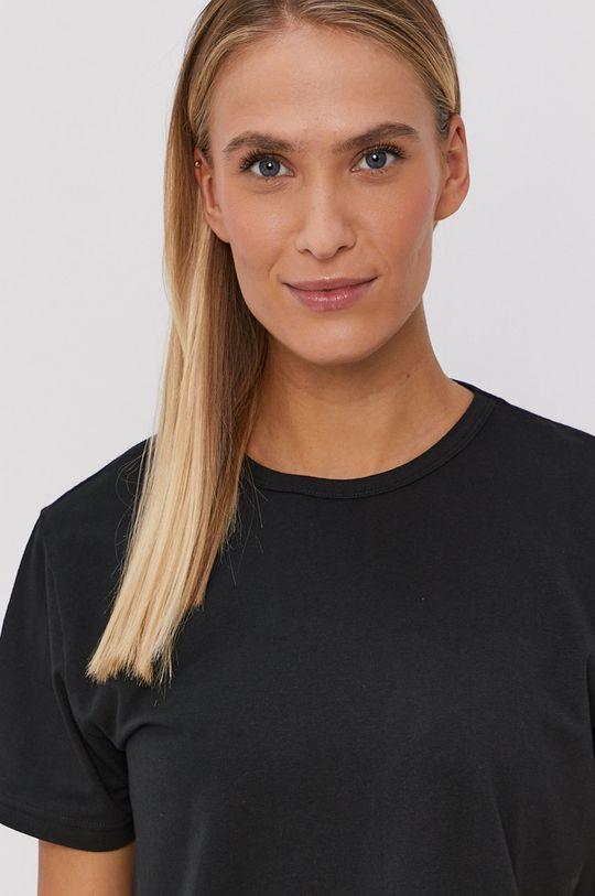 czarny Calvin Klein Underwear - T-shirt piżamowy CK One