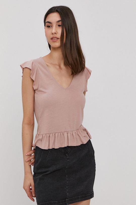 ružovofialová Jacqueline de Yong - Tričko