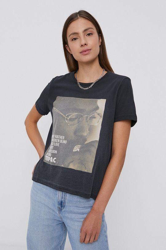 negru Only - Tricou din bumbac