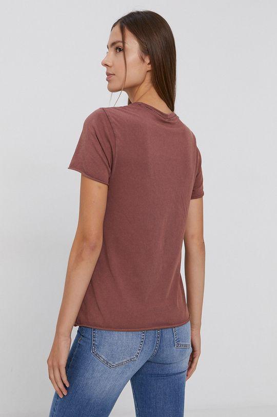 Only - T-shirt bawełniany 100 % Bawełna organiczna