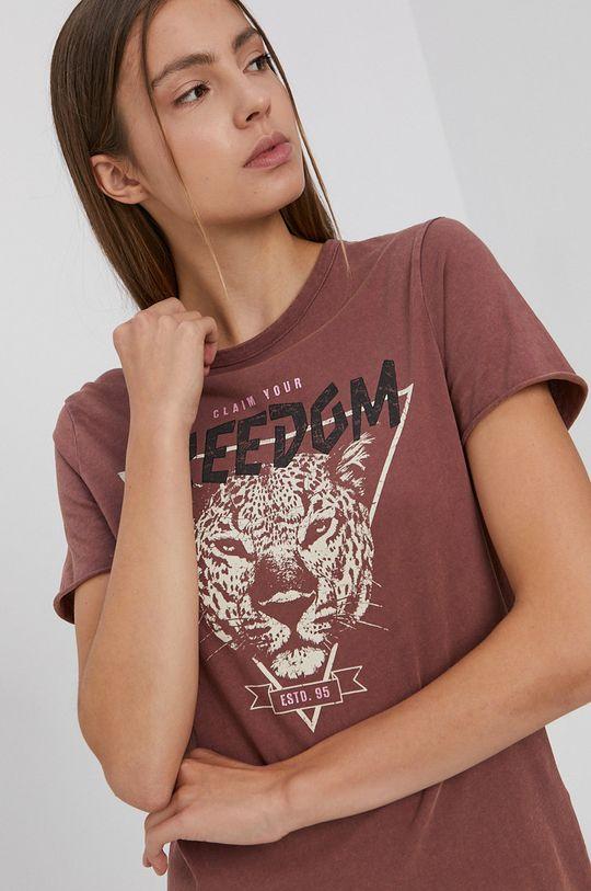 Only - T-shirt bawełniany Damski
