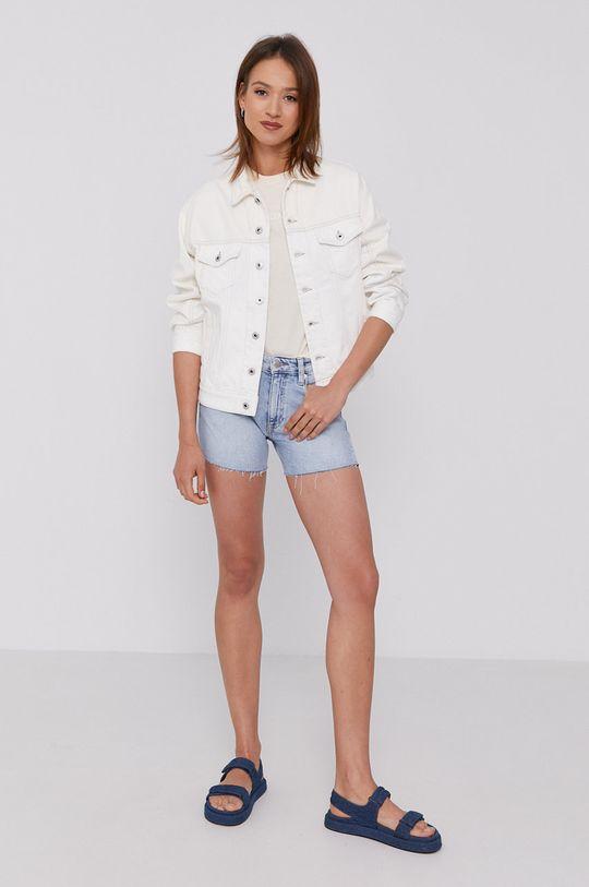 Calvin Klein Jeans - T-shirt krém