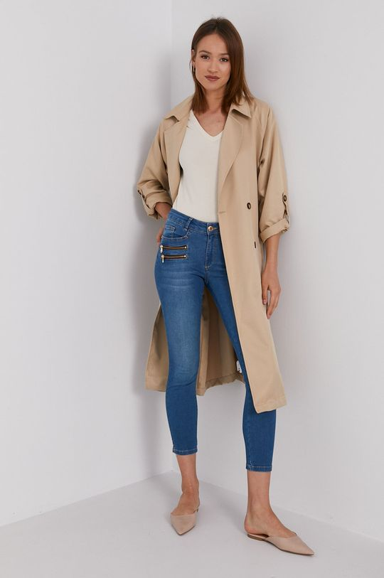 Calvin Klein Jeans - Tričko krémová