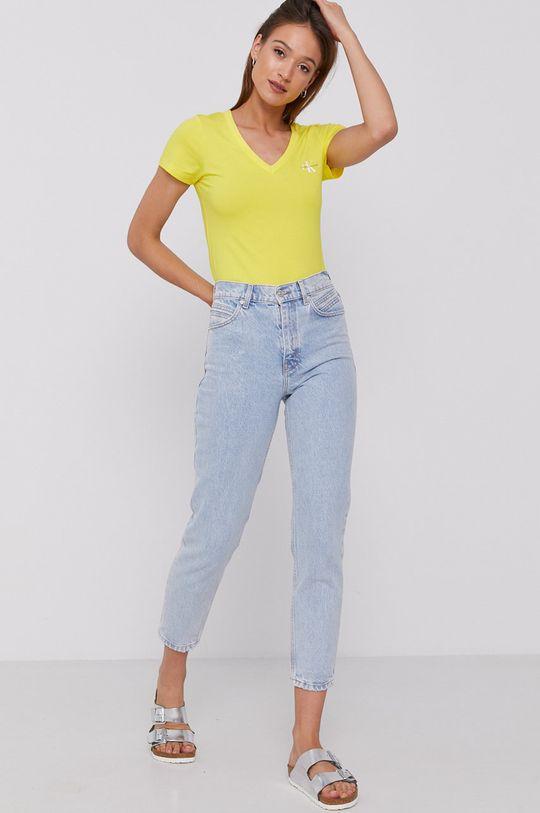 Calvin Klein Jeans - Tričko žltá