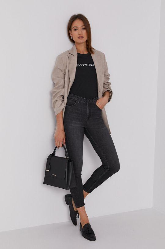 Calvin Klein Jeans - Tričko (2-pak) čierna