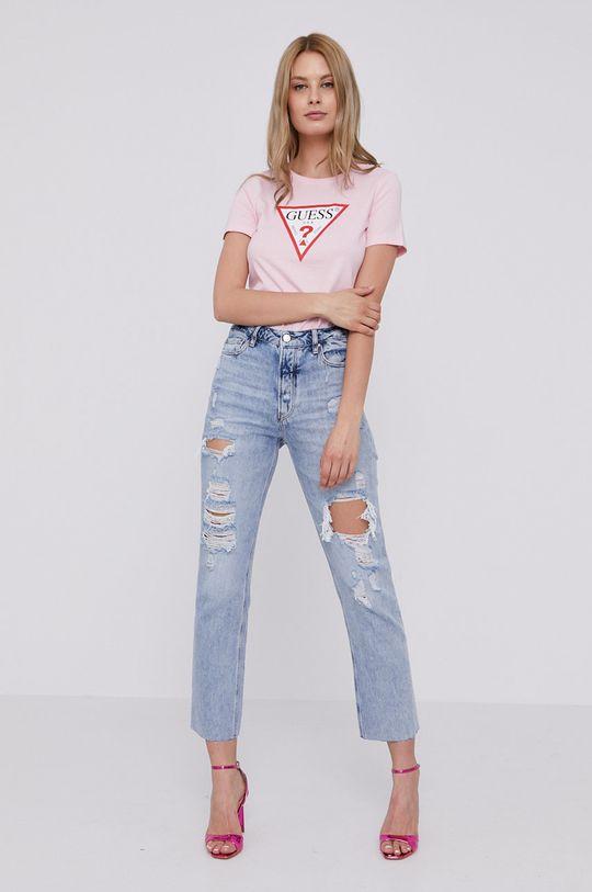 Guess - Tričko ružová