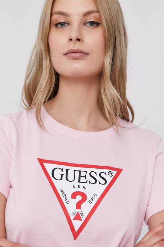 ružová Guess - Tričko