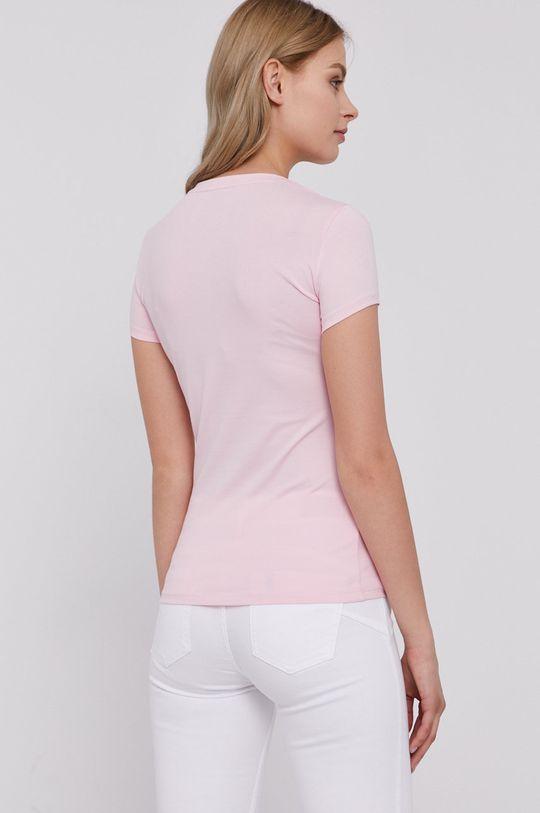 Guess - T-shirt 95 % Bawełna organiczna, 5 % Elastan