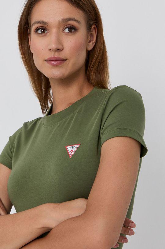 tmavozelená Guess - Tričko