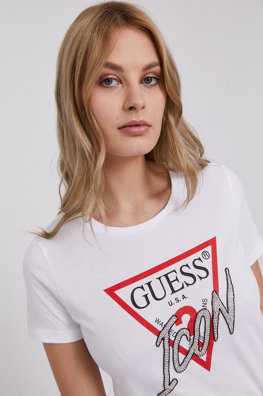 bílá Guess - Tričko Dámský