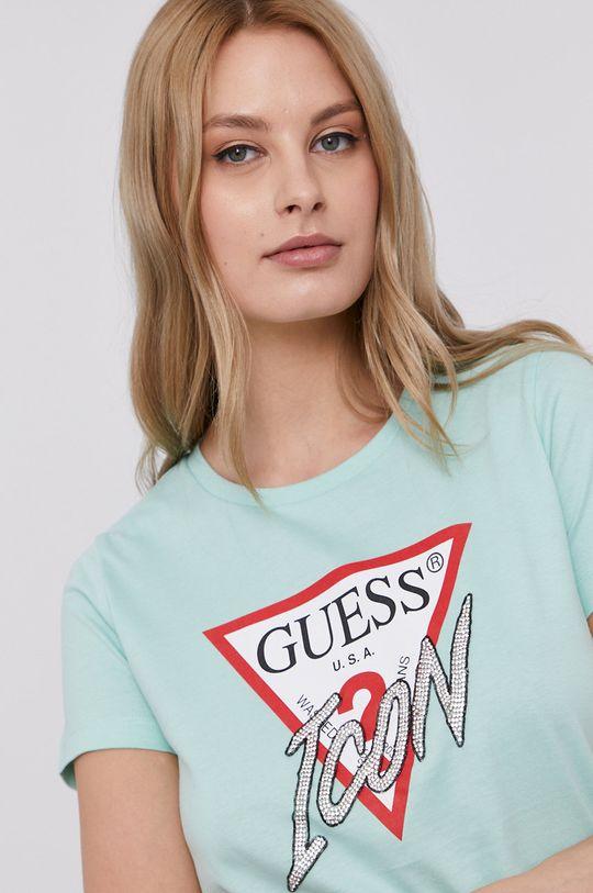 tyrkysová Guess - Tričko
