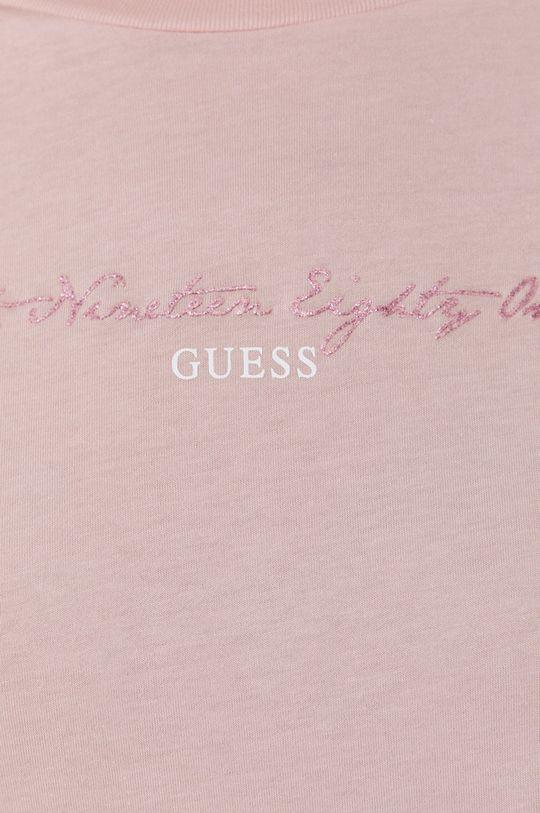 růžová Guess - Tričko