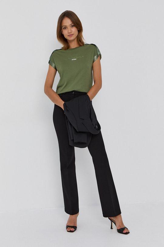 Guess - Tričko tmavě zelená