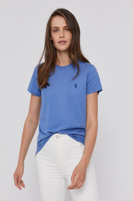 modrá Polo Ralph Lauren - Bavlněné tričko Dámský