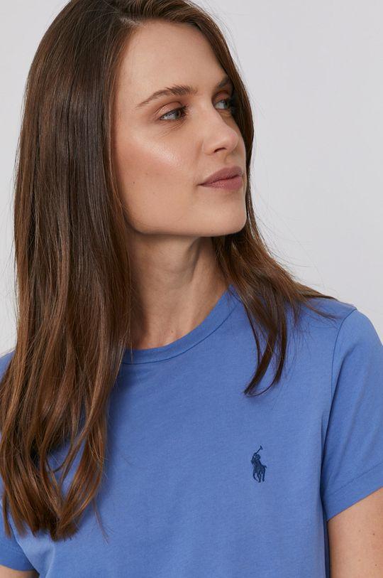 modrá Polo Ralph Lauren - Bavlněné tričko