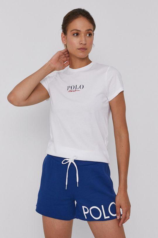 biały Polo Ralph Lauren - T-shirt bawełniany Damski