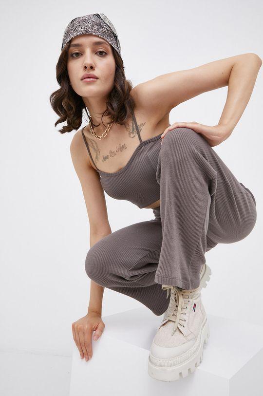 szary Jacqueline de Yong - Top Damski