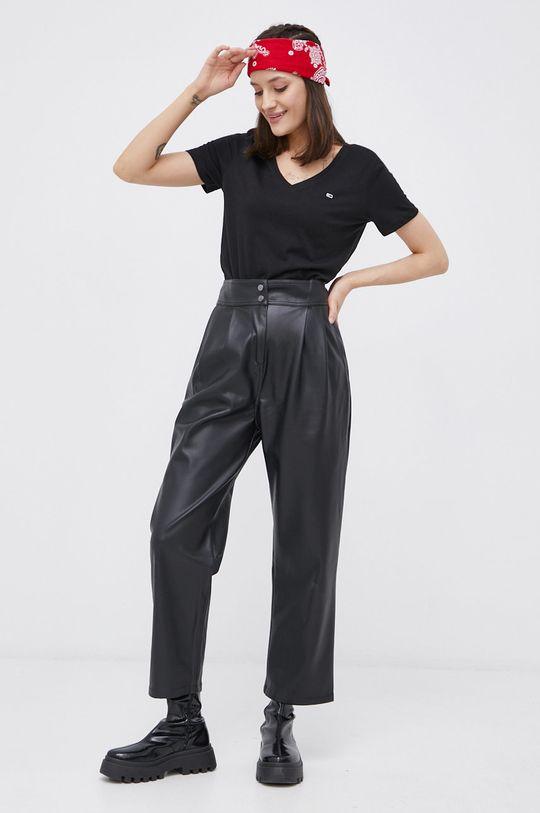 Tommy Jeans - T-shirt bawełniany (2-pack) 100 % Bawełna