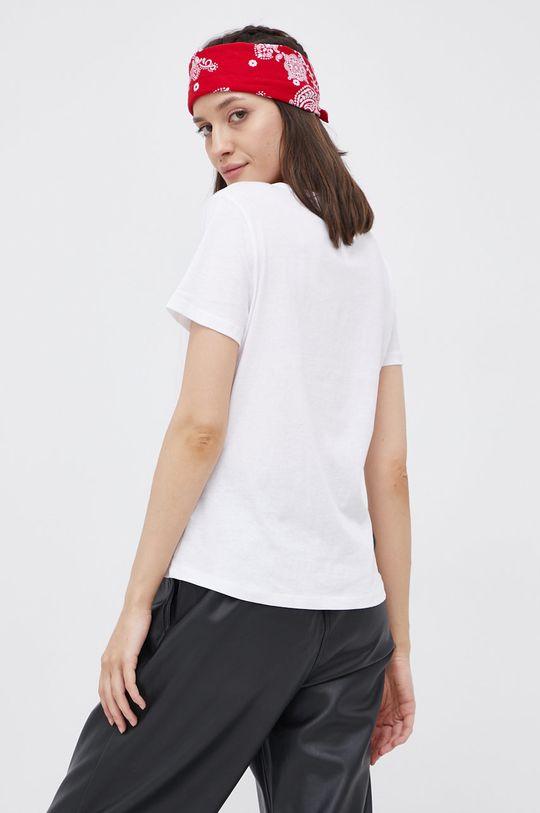 biały Tommy Jeans - T-shirt bawełniany (2-pack)