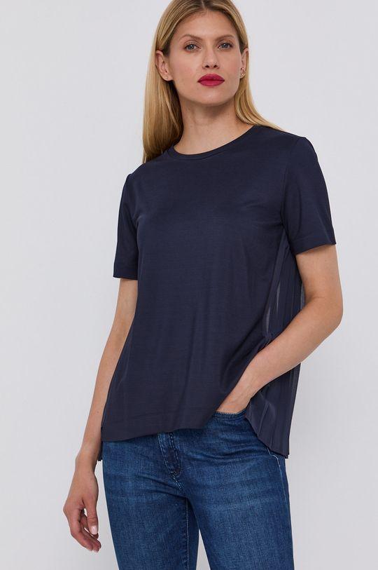 Hugo - T-shirt Materiał 1: 2 % Elastan, 98 % Wiskoza, Materiał 2: 100 % Poliester