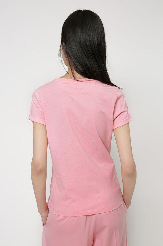 Hugo - T-shirt 100 % Bawełna organiczna