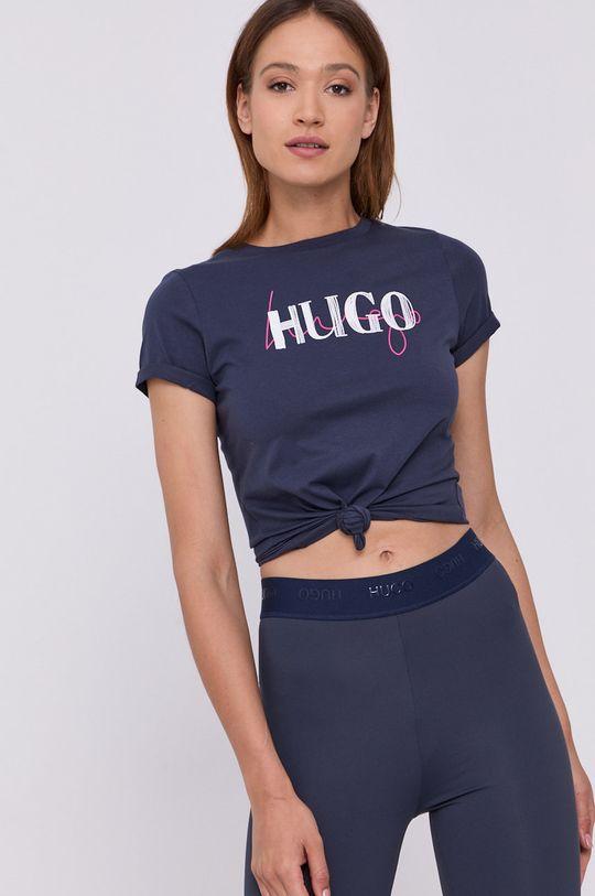 námořnická modř Hugo - Tričko Dámský
