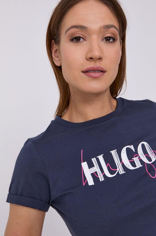 námořnická modř Hugo - Tričko