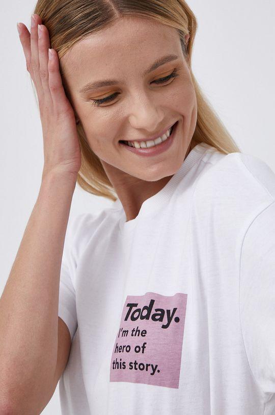 biały Only - T-shirt bawełniany