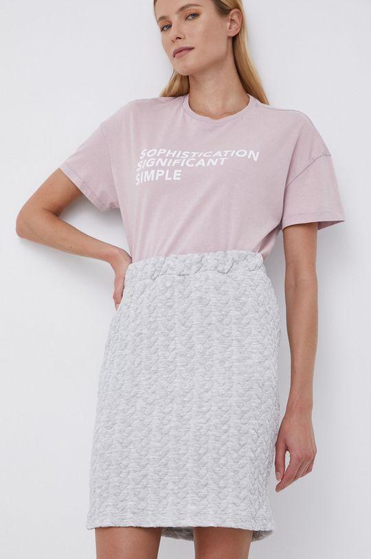 różowy Only - T-shirt bawełniany