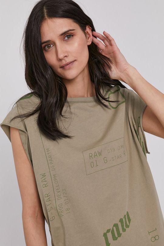 zielony G-Star Raw - T-shirt