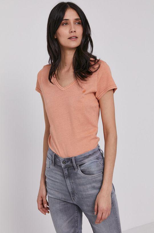 pomarańczowy G-Star Raw - T-shirt Damski