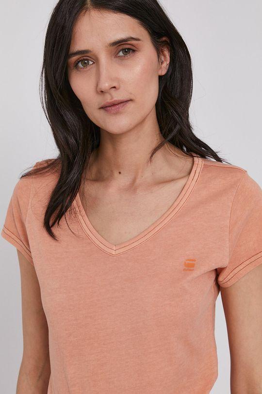 pomarańczowy G-Star Raw - T-shirt