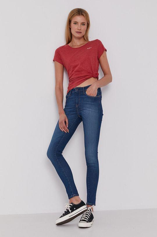 Pepe Jeans - Tričko Marjorie červená