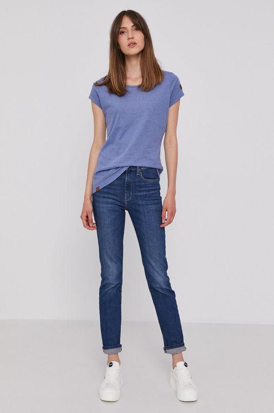 Pepe Jeans - T-shirt RAGY fioletowy