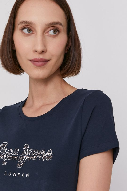 námořnická modř Pepe Jeans - Tričko BEATRICE