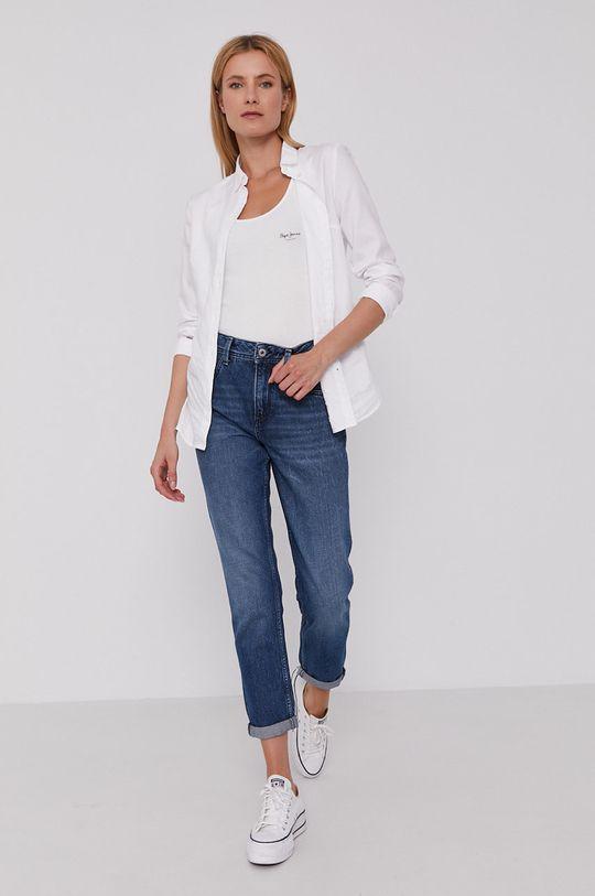 Pepe Jeans - Top Duni biały
