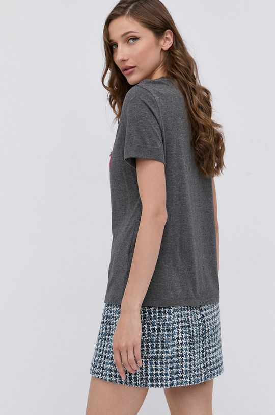 Guess - T-shirt 60 % Bawełna, 40 % Modal