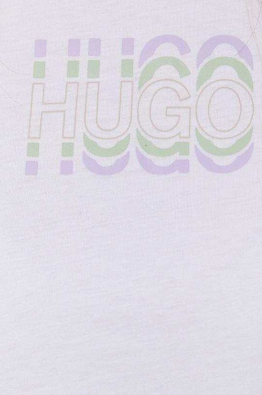 Hugo - T-shirt bawełniany Damski