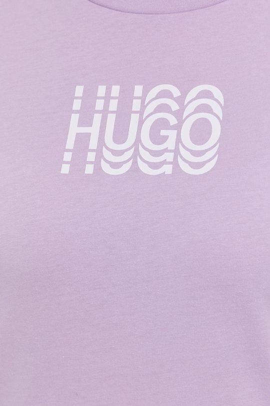 Hugo - Bavlnené tričko Dámsky