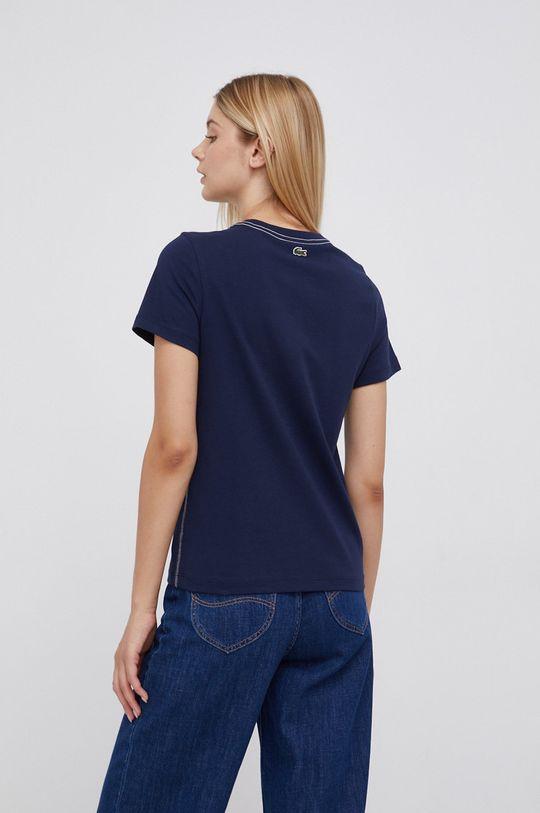 Lacoste - T-shirt bawełniany 100 % Bawełna