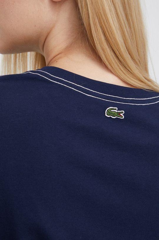 Lacoste - T-shirt bawełniany Damski
