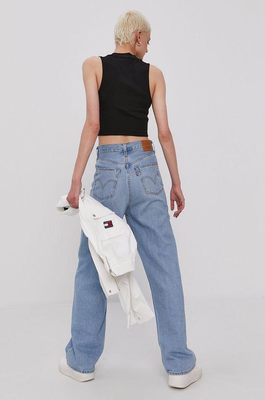 Tommy Jeans - Top 96 % Bawełna, 4 % Elastan