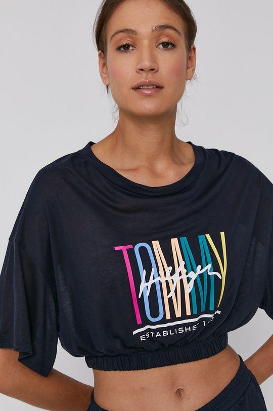 námořnická modř Tommy Hilfiger - Tričko