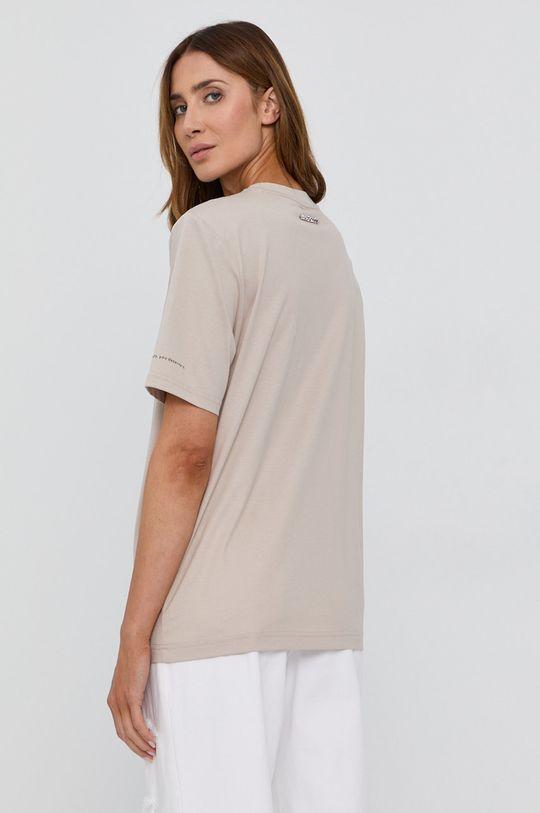 Miss Sixty - T-shirt bawełniany beżowy