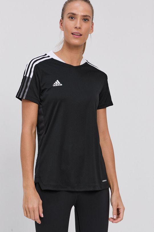 černá adidas Performance - Tričko Dámský