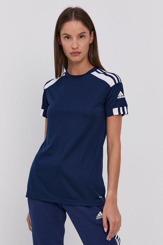 námořnická modř adidas Performance - Tričko Dámský