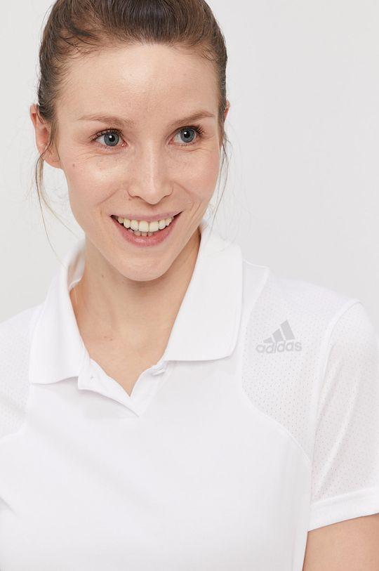 biela adidas Performance - Tričko