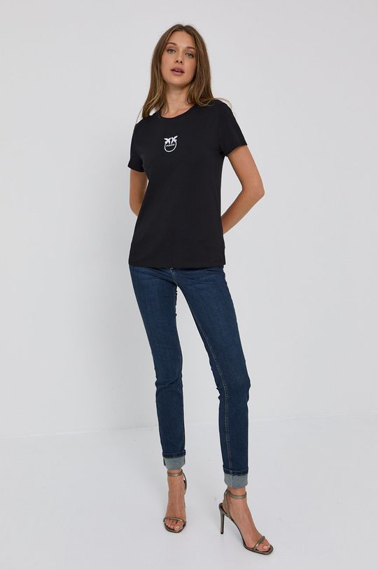 Pinko - Tričko černá