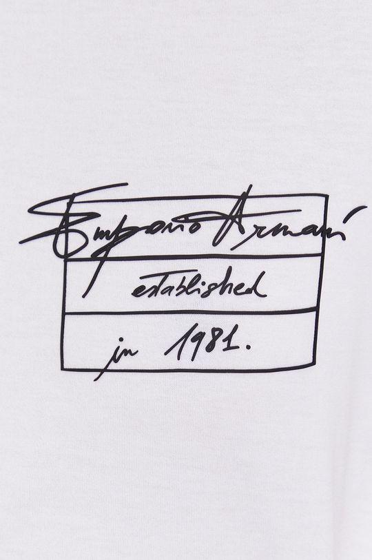 Emporio Armani - T-shirt bawełniany Damski